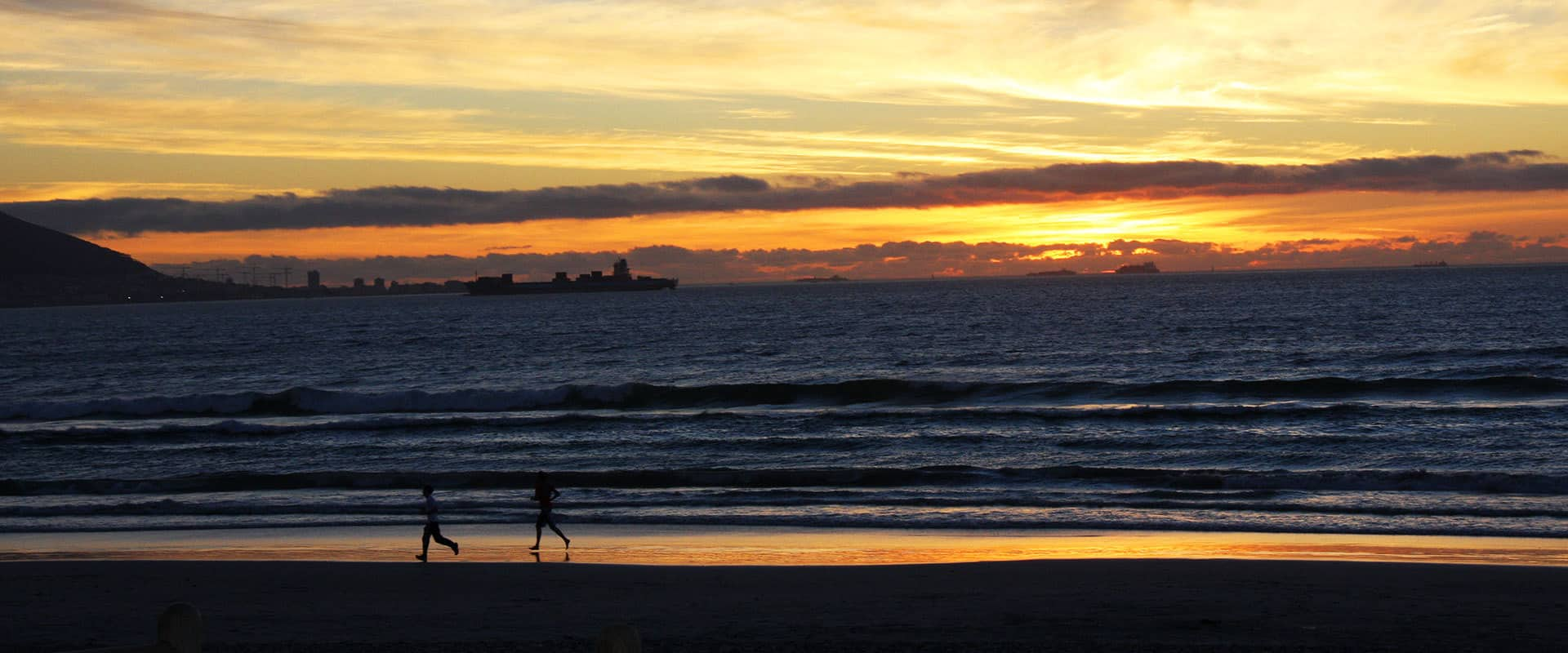 Kapstadt Strand Sonnenuntergang