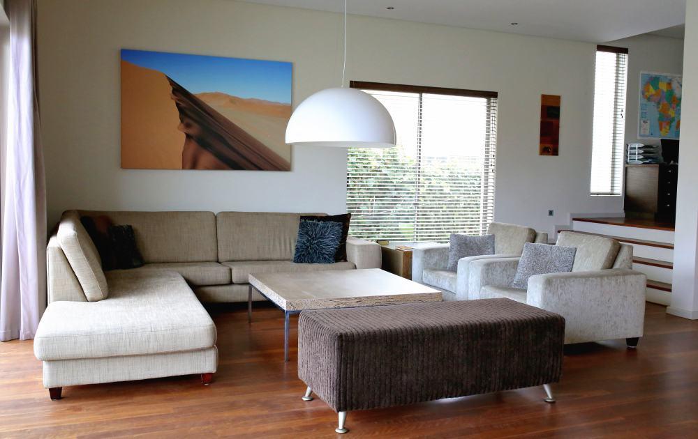 Großzügiger Wohnbereich und Sofaecke Da House Appartement
