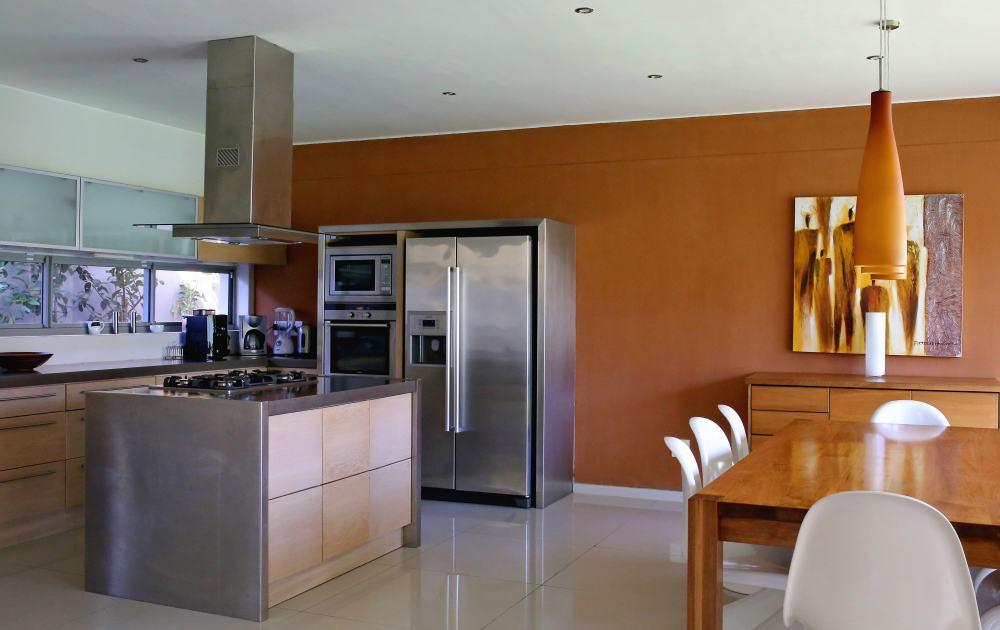 Küche und Essbereich im Da House Appartement