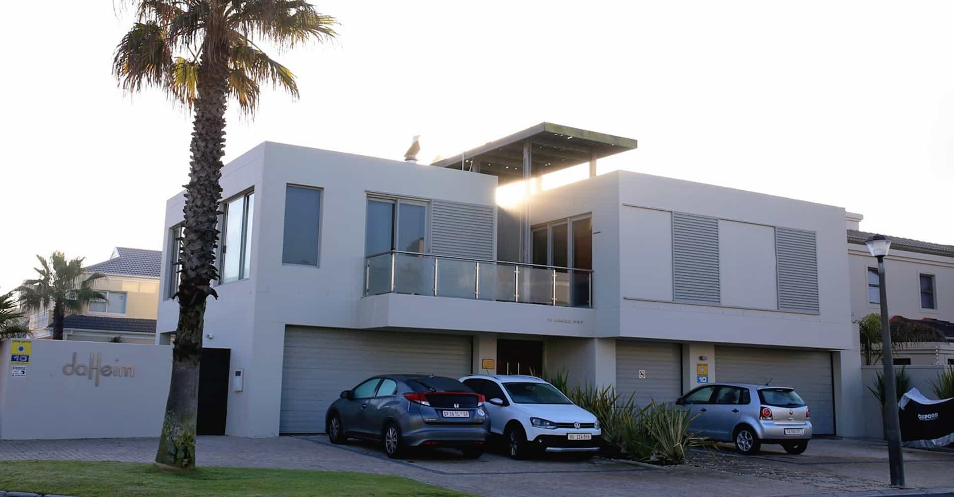 Parkplätze des modernen da heim Guesthouse in Kapstadt