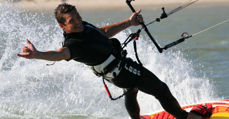 da Heim Guesthouse Kapstadt Kite-Surfer