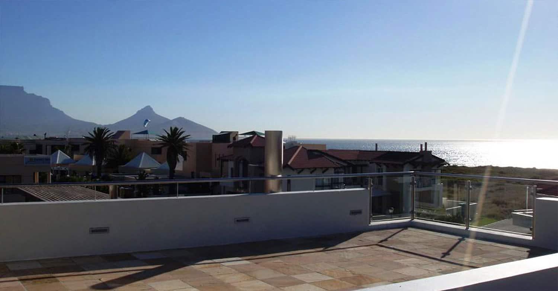 da Heim Guesthouse Kapstadt Dachterrasse