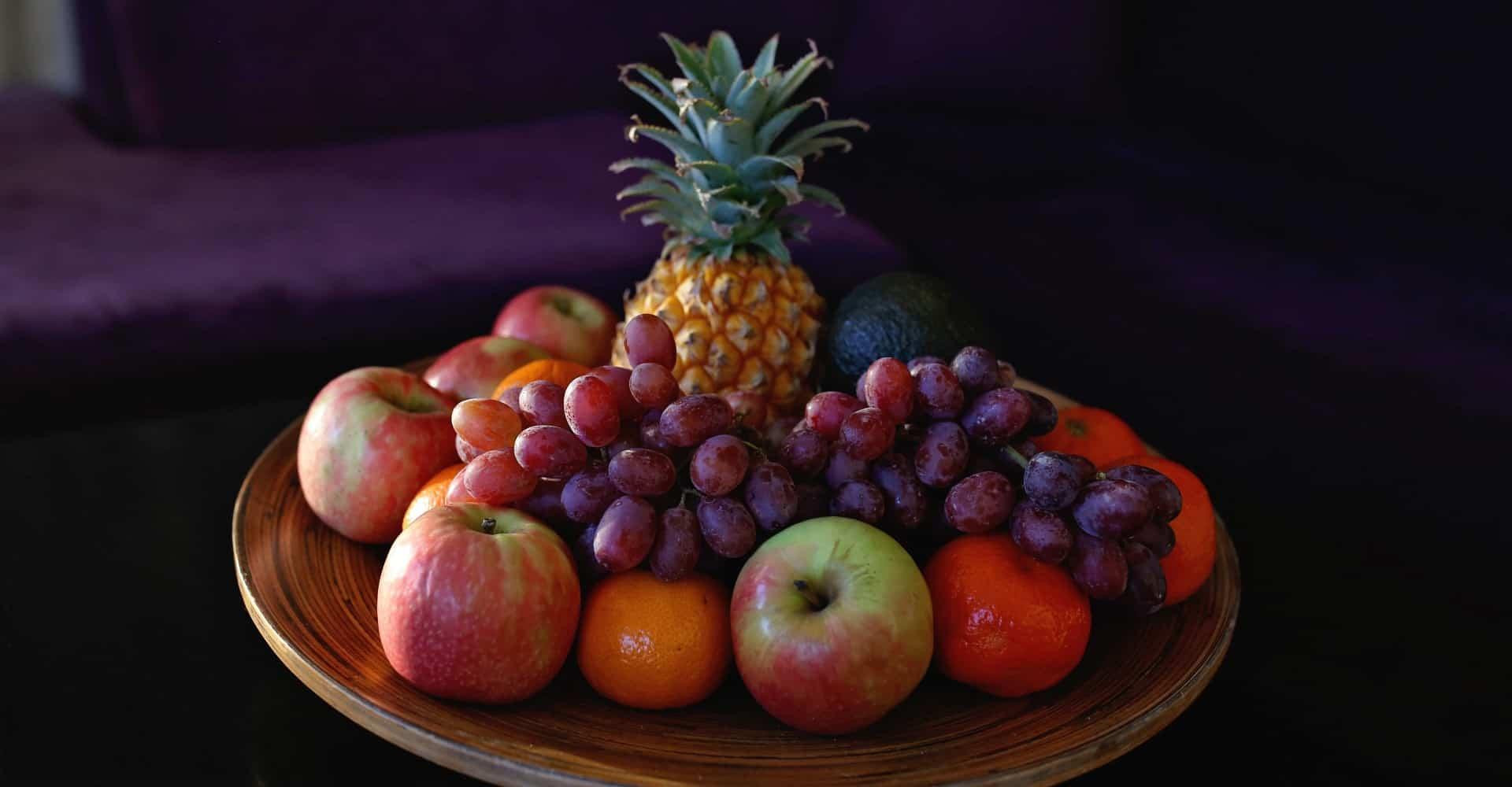 Da Heim Gästehaus Obstkorb zur Begrüßung - fruits to welcome guesthouse guests