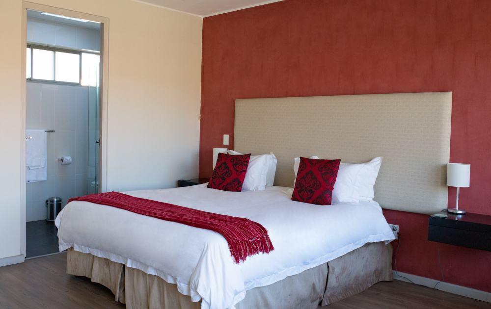 Gemütliches Doppelbett im Appartement - doublebed in apartment