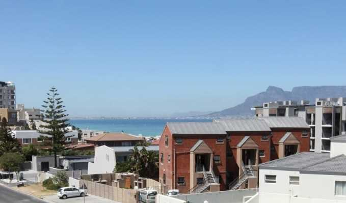 Blick aus Appartement auf Tafelberg - View Apartment Table Mountain