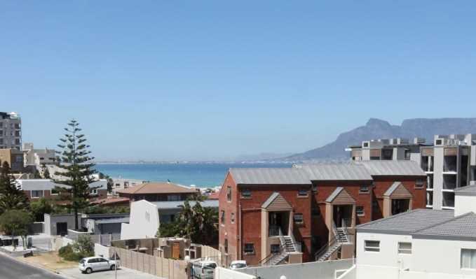 Blick aus Appartement auf Tafelberg - View Apartment Table Mountain